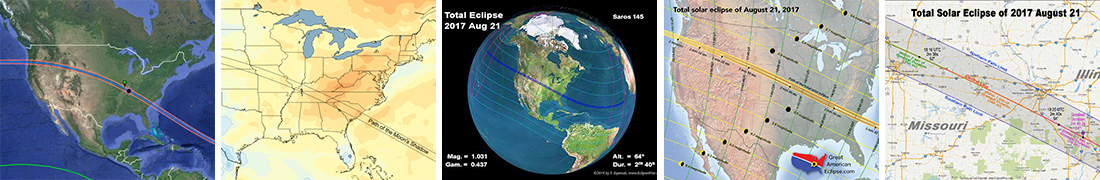 Eclipse Maps