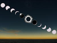 Total Solar Eclipse 2012 Sequence