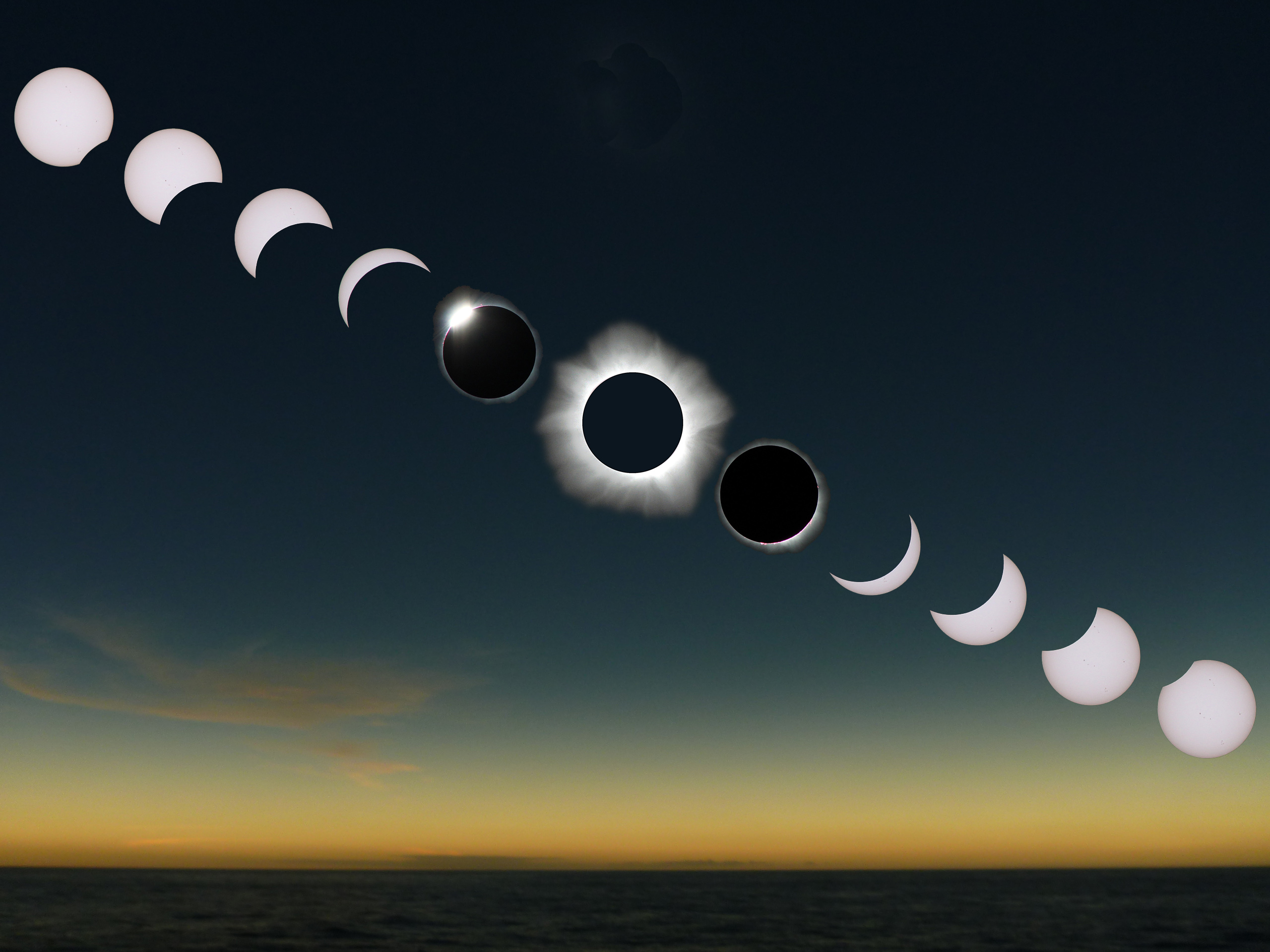 image of total solar eclipse