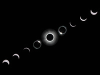Total Solar Eclipse 2013 Sequence