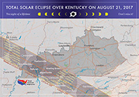 Map of Eclipse in Kentucky