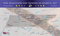 Map of Eclipse in Tennessee